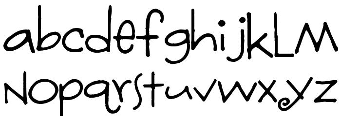 Fontmoochers Font LOWERCASE