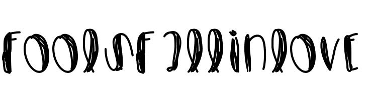 FoolsFallInLove  Free Fonts Download