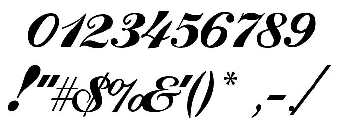Ford script font