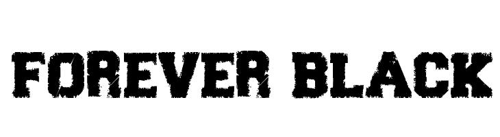 Forever Black  Free Fonts Download