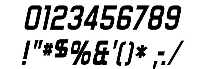 Forgotten Futurist Bold Italic Fonte OUTROS PERSONAGENS