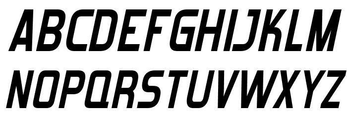Forgotten Futurist Bold Italic Fonte MAIÚSCULAS