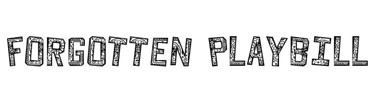 Forgotten Playbill  baixar fontes gratis