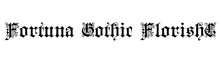 Fortuna Gothic FlorishC  baixar fontes gratis