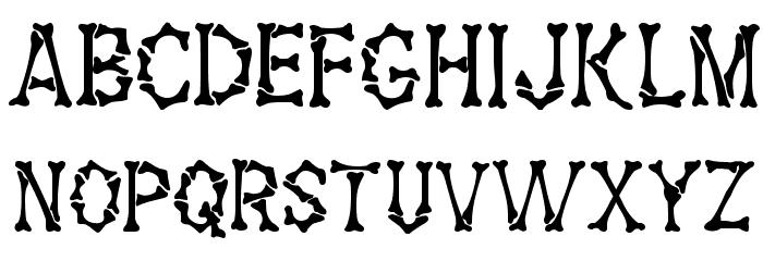 Fossil Regular Шрифта строчной