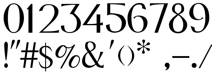 Fox Regular Font OTHER CHARS