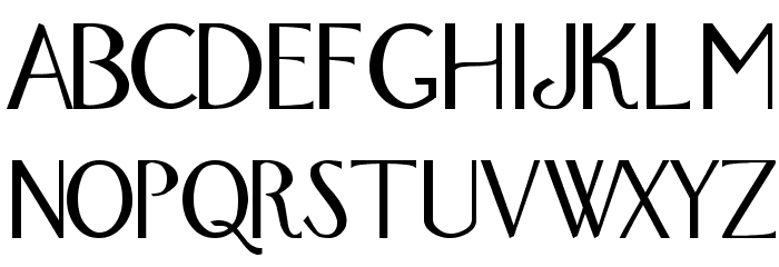 Fox Regular Font UPPERCASE