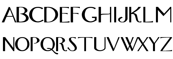 Fox Regular Font LOWERCASE