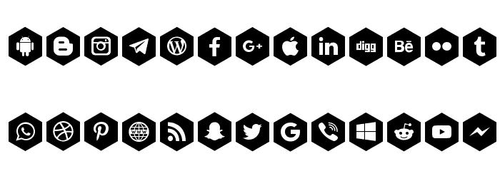 font icons 120 Fonte MINÚSCULAS