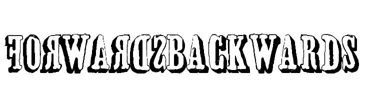 forwardsBACKWARDS  baixar fontes gratis