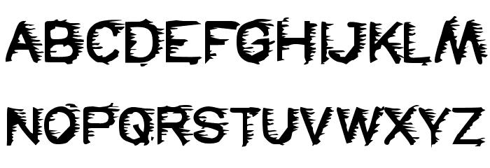 FREEZER फ़ॉन्ट अपरकेस