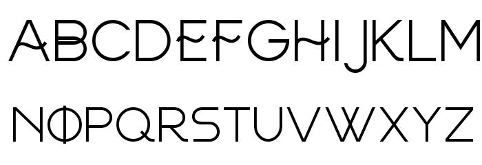 FRINCO Font LOWERCASE