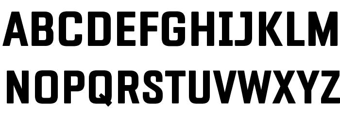 Fragua Bold Font UPPERCASE