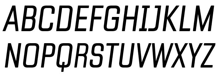 Fragua Light Italic Schriftart Groß