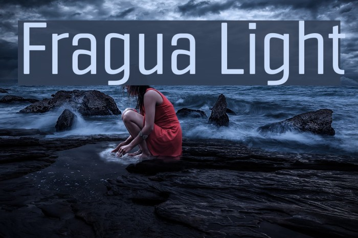 Fragua Light Fonte examples
