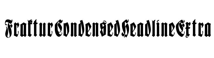 fraktur spamless font