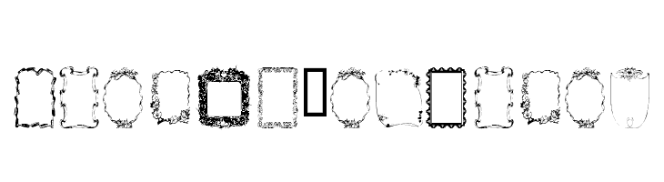Frames1a Normal  Free Fonts Download