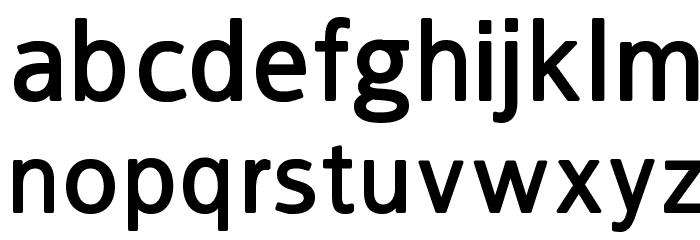 FranKleinBold Font LOWERCASE
