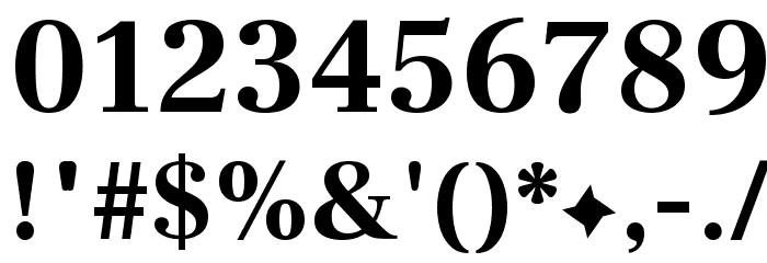 Frank Ruhl Libre Bold Font OTHER CHARS
