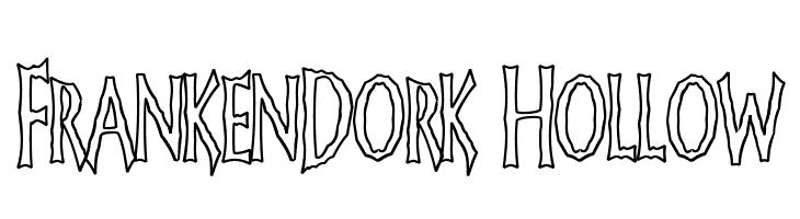 FrankenDork Hollow  Fuentes Gratis Descargar