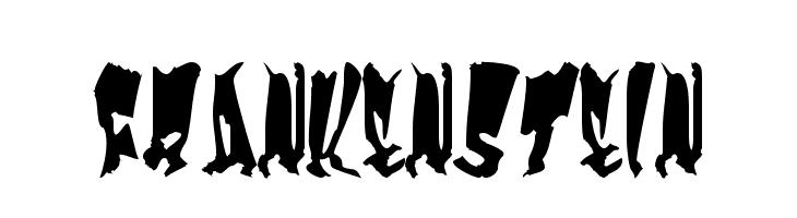 Frankenstein  les polices de caractères gratuit télécharger