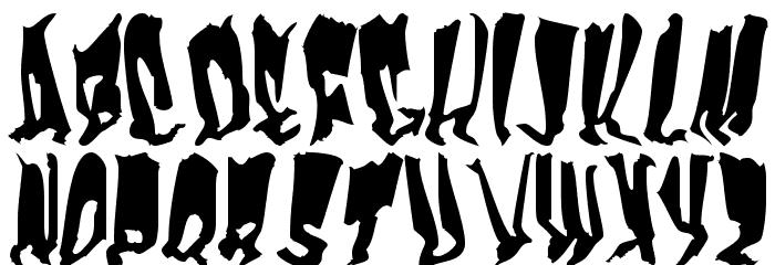Frankenstein Font LOWERCASE