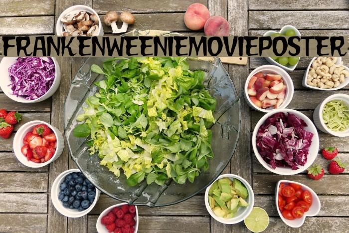 FrankenweenieMoviePoster Font examples