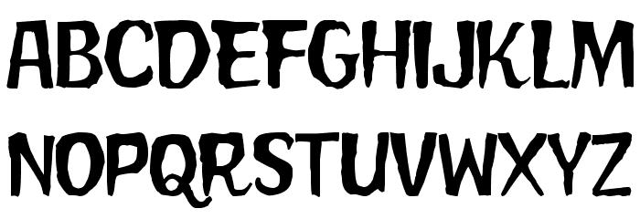 FrankenweenieMoviePoster Font Litere mici