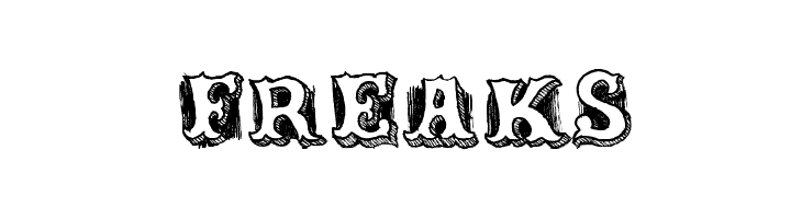 Freaks Schriftart