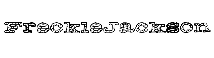 FreckleJackson  Free Fonts Download