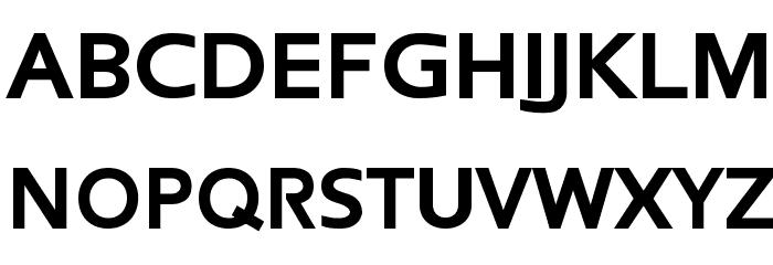 Frederic Black Font UPPERCASE