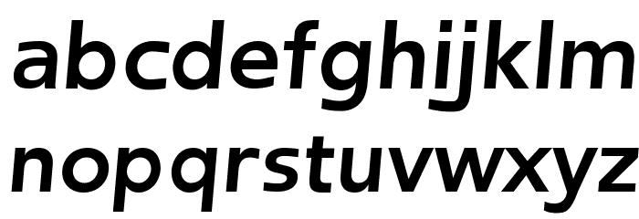 Frederic Bold Italic फ़ॉन्ट लोअरकेस