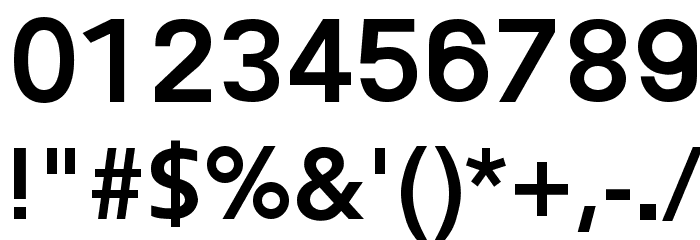 Frederic Bold Font OTHER CHARS