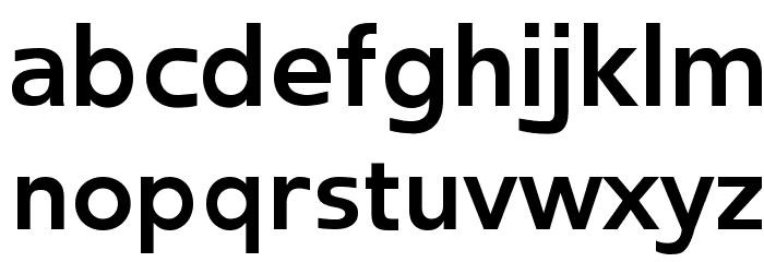 Frederic Bold Font LOWERCASE