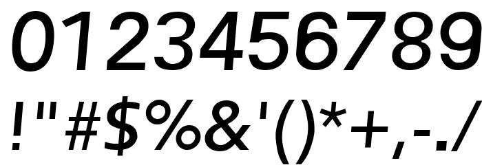 Frederic Regular Italic फ़ॉन्ट अन्य घर का काम