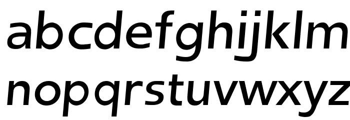 Frederic Regular Italic फ़ॉन्ट लोअरकेस