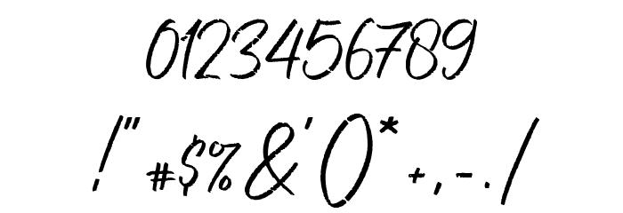 Free Pen 字体 其它煤焦