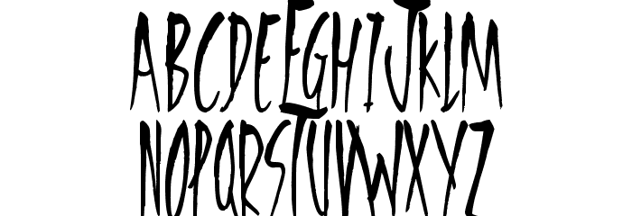 Freedom Fighters Font LOWERCASE