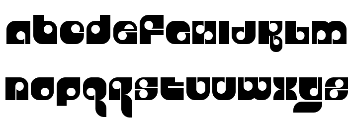 Freestyle Font UPPERCASE
