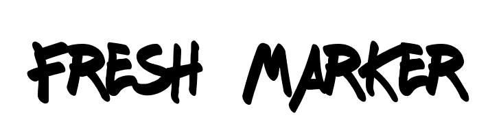 Fresh Marker  baixar fontes gratis