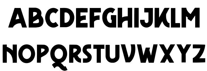 FreudianOne Caratteri MINUSCOLO