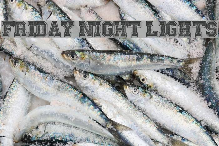 Friday Night Lights Font examples