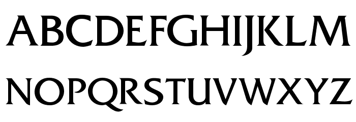 Frit Qat Normal Font UPPERCASE