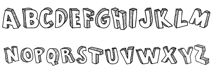 From Cartoon Blocks Font