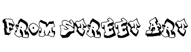 From Street Art  Free Fonts Download