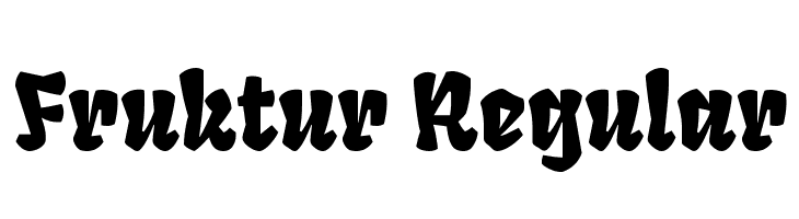 Fruktur Regular Font