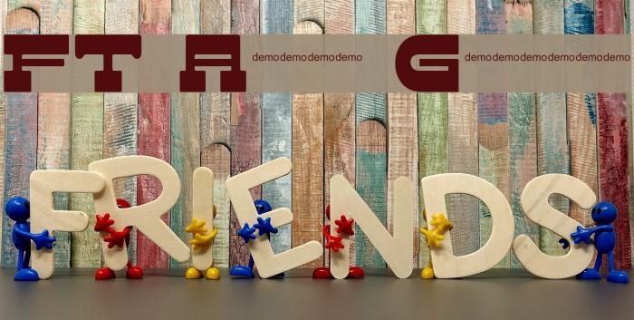 FT Adios Gringo! फ़ॉन्ट examples