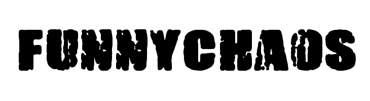 FUNNY CHAOS  Free Fonts Download