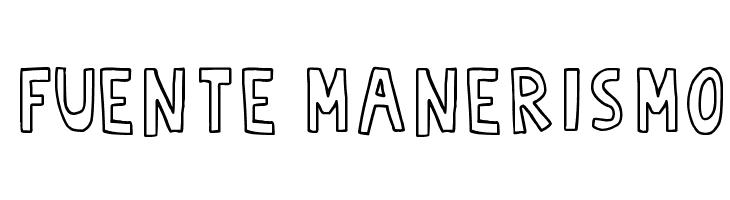 Fuente Manerismo  Free Fonts Download