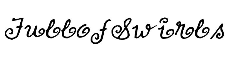 FullofSwirls  フリーフォントのダウンロード